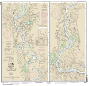 Picture of 12378 - Connecticut River - Bodkin Rock To Hartford Nautical Chart