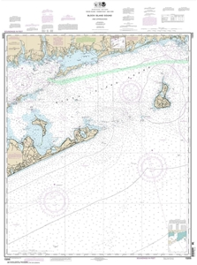 Picture of 13205 - Block Island Sound And Approaches Nautical Chart