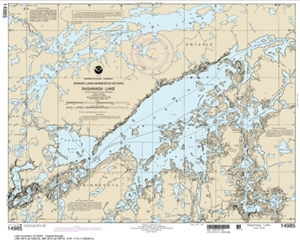 Picture of 14985 - Boundary Waters - Saganaga Lake Nautical Chart