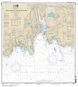 Picture of 13211 - North Shore of Long Island Sound - Niantic Bay And Vicinity Nautical Chart