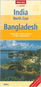 Picture of Nelles Map - India Northeast, Bangladesh