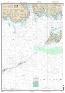 Picture of 13212 - Approaches To New London Harbor Nautical Chart