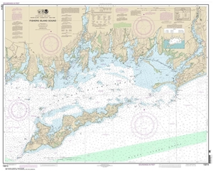 Picture of 13214 - Fishers Island Sound Nautical Chart