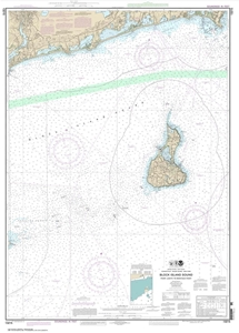 Picture of 13215 - Block Island Sound - Point Judith To Montauk Point Nautical Chart