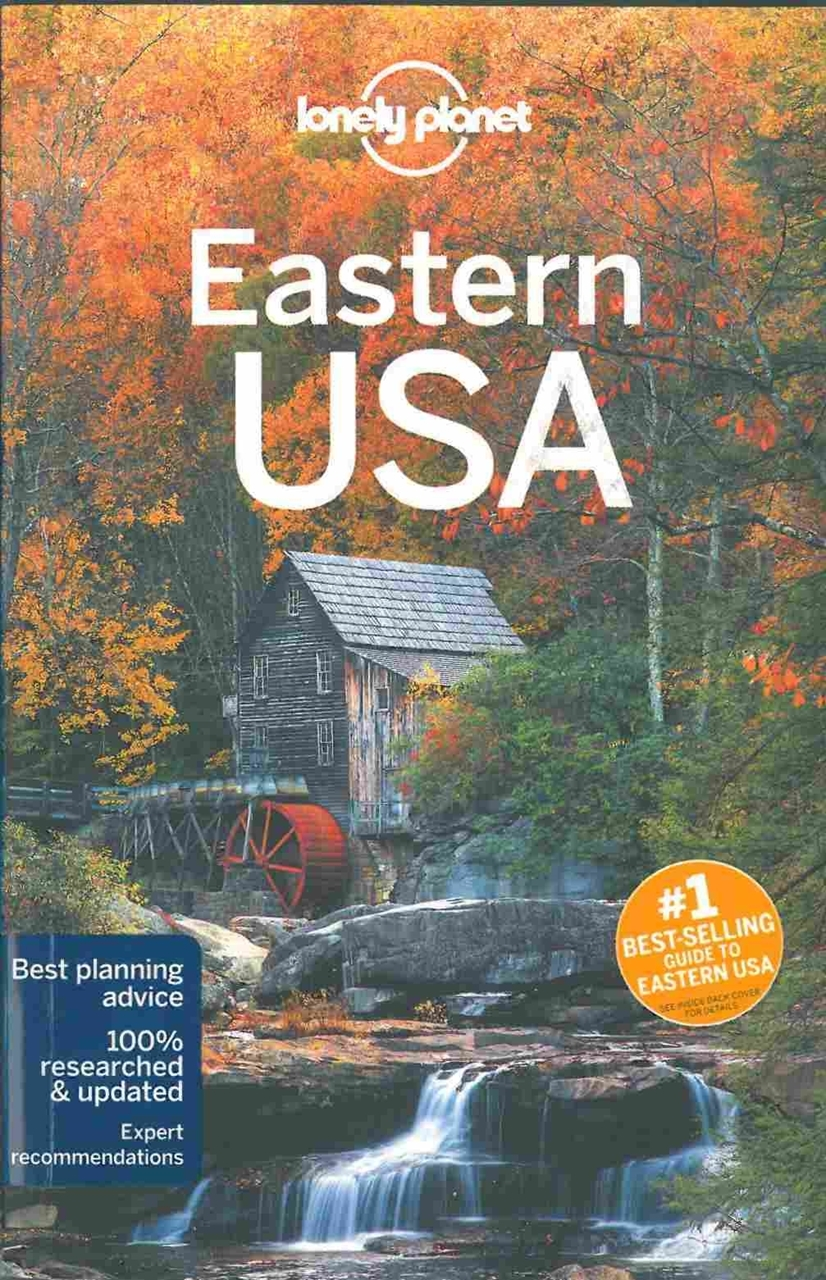 themapstore lonely planet eastern usa