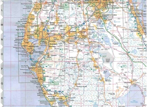 Picture of Florida State Travel Map