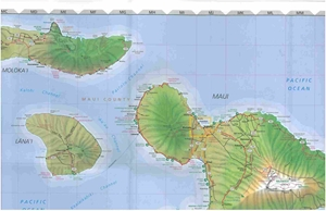 Picture of Hawaii State Travel Map
