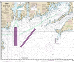 Picture of 13218 - Martha's Vineyard To Block Island Nautical Chart