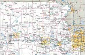 Picture of Kansas State Travel Map