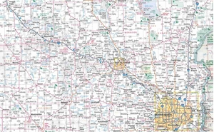 Picture of Minnesota State Travel Map