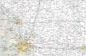 Picture of Missouri State Travel Map