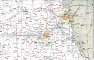 Picture of Nebraska State Travel Map