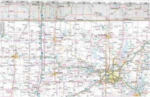 Picture of Oklahoma State Travel Map