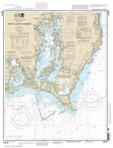 Picture of 13219 - Point Judith Harbor Nautical Chart