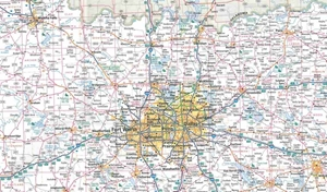 Picture of Texas State Travel Map