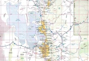 Picture of Utah State Travel Map