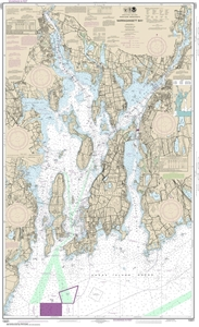 Picture of 13221 - Narragansett Bay Nautical Chart