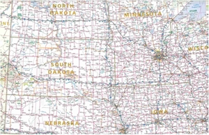 Picture of Rand McNally Central United States