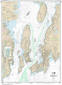 Picture of 13223 - Narragansett Bay, Including Newport Harbor Nautical Chart