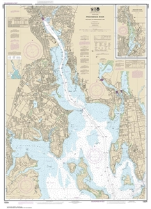 Picture of 13224 - Providence River And Head of Narragansett Bay Nautical Chart