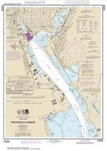 Picture of 13225 - Providence Harbor Nautical Chart
