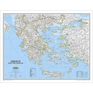 Picture of National Geographic Greece Wall Map