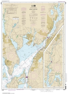 Picture of 13226 - Mount Hope Bay Nautical Chart