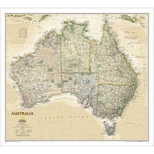 Picture of National Geographic Australia Executive Wall Map