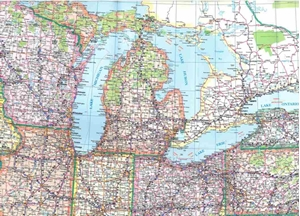 Picture of Eastern United States Tear-Resistant, Folded map