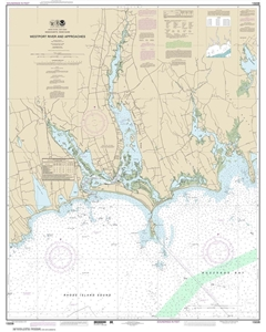 Picture of 13228 - Westport River And Approaches Nautical Chart