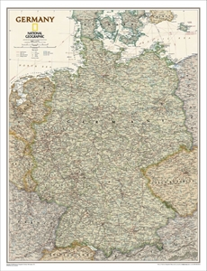 Picture of National Geographic Germany Executive Wall Map