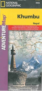 Picture of National Geographic - Khumbu, Nepal Adventure Map