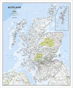 Picture of National Geographic Scotland Wall Map