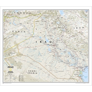Picture of National Geographic Iraq Wall Map