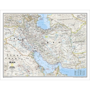 Picture of National Geographic Iran Wall Map