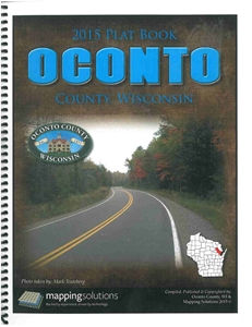 Picture of Oconto County Wisconsin Plat Book 2015