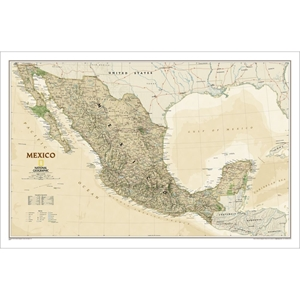Picture of National Geographic Mexico Executive Wall Map