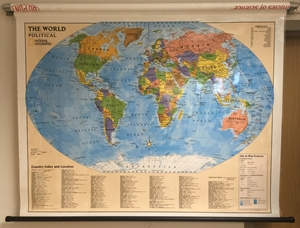 Picture of National Geographic Political World Education Map