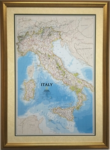 Picture of Italy Classic Gallery Map