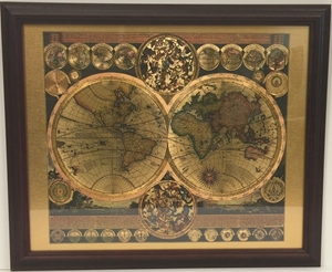 Picture of Peter Schenk World Map