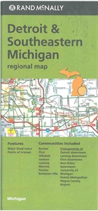 Picture of Detroit & Southeast Michigan Regional Highway Map