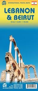 Picture of International Travel Maps - Lebanon & Beirut