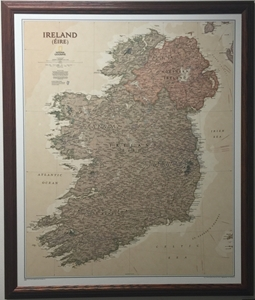 Picture of Ireland Executive Gallery Map