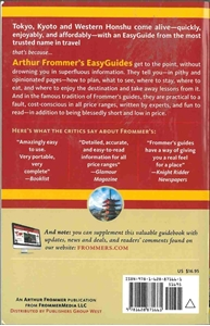 Picture of Frommer's EasyGuide to Tokyo, Kyoto and Western Honshu