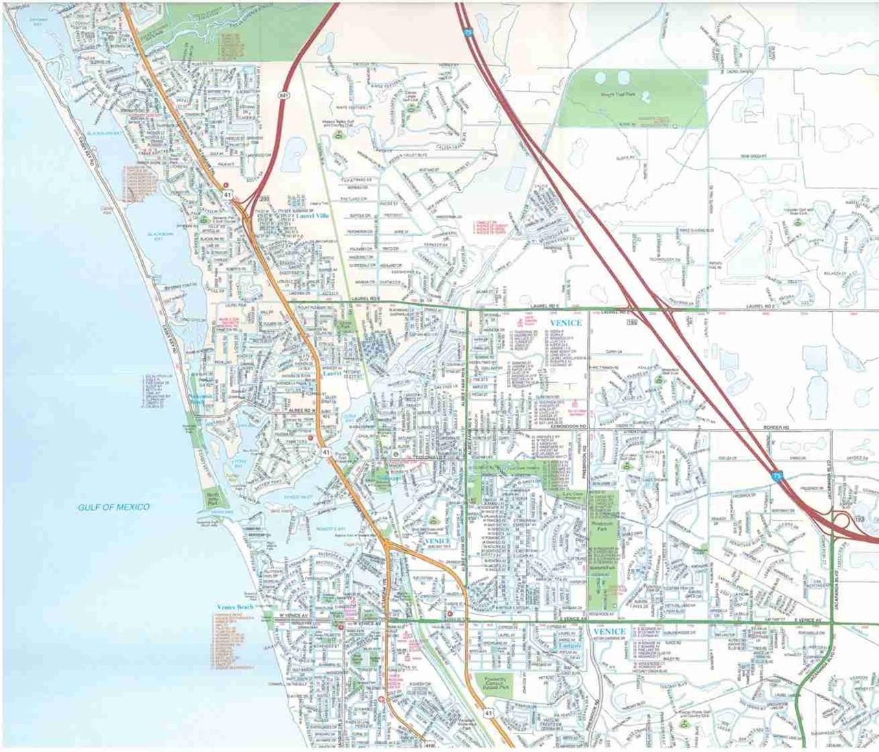 TheMapStore | Venice, Englewood, FL street map
