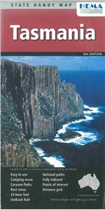 Picture of HEMA - Tasmania State Handy Map