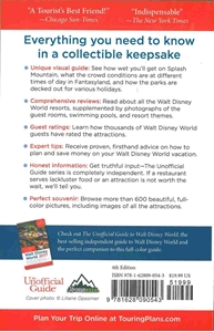 Picture of Unofficial Guide The Color Companion to Walt Disney World 2017