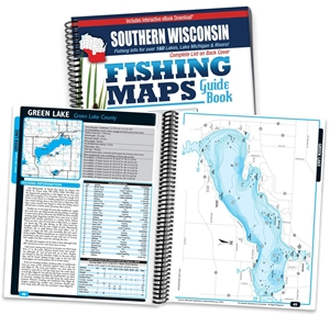 Picture of Southern Wisconsin Fishing Map Guide