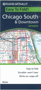 Picture of Chicago South & Downtown Folded EasyFinder Map