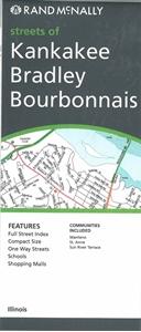 Picture of Kankakee, Bradley, Bourbonais, IL street map